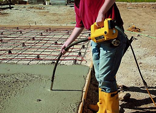 Купить вибратор для бетона